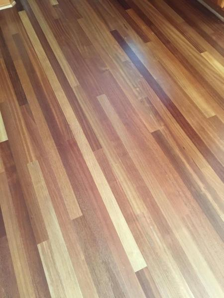 how can I know whether my hardwood floor is glued down or nailed     enter image description here  hardwood floor
