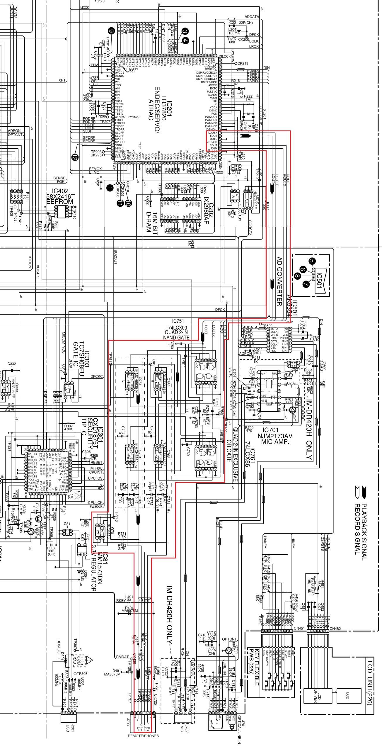 Merge Separate Audio Ground Signals