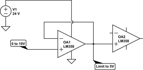 OpAmp Buffer Configuration With