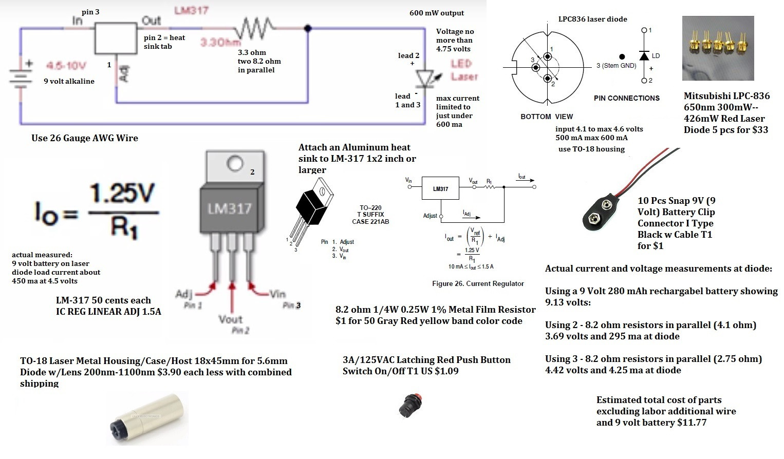 500mw Laser Diode What S The Point Of A Driver And Will It Need A Lens To Focus