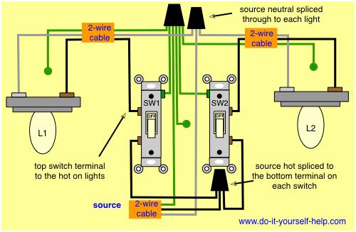 Adjacent Room Light Switch Causing LED Lights