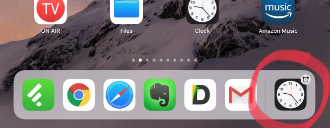 Suggestion Icons In Ios 11 Dock