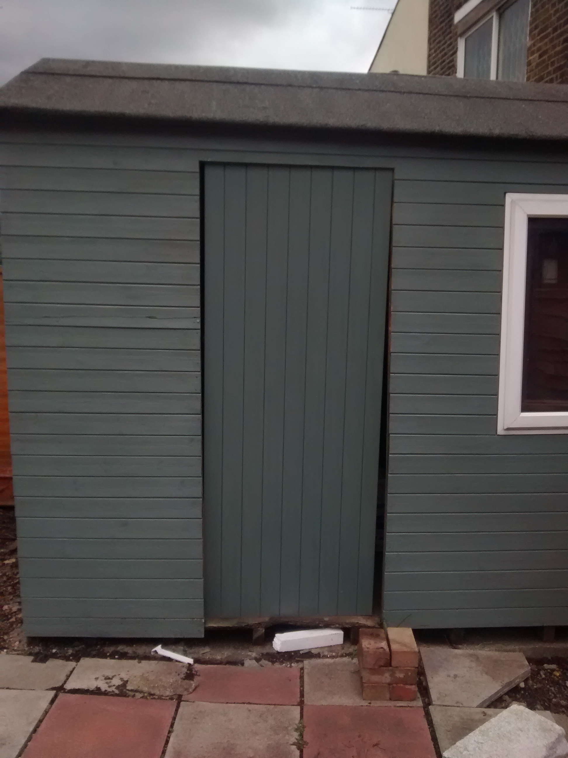 Hanging A New Shed Door On A Frame That Is Not Level