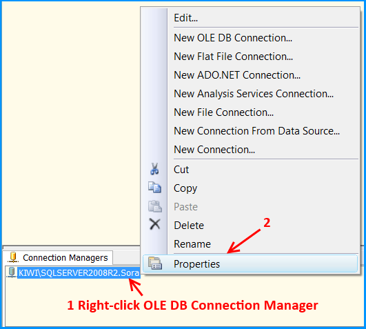 Connection Manager Properties