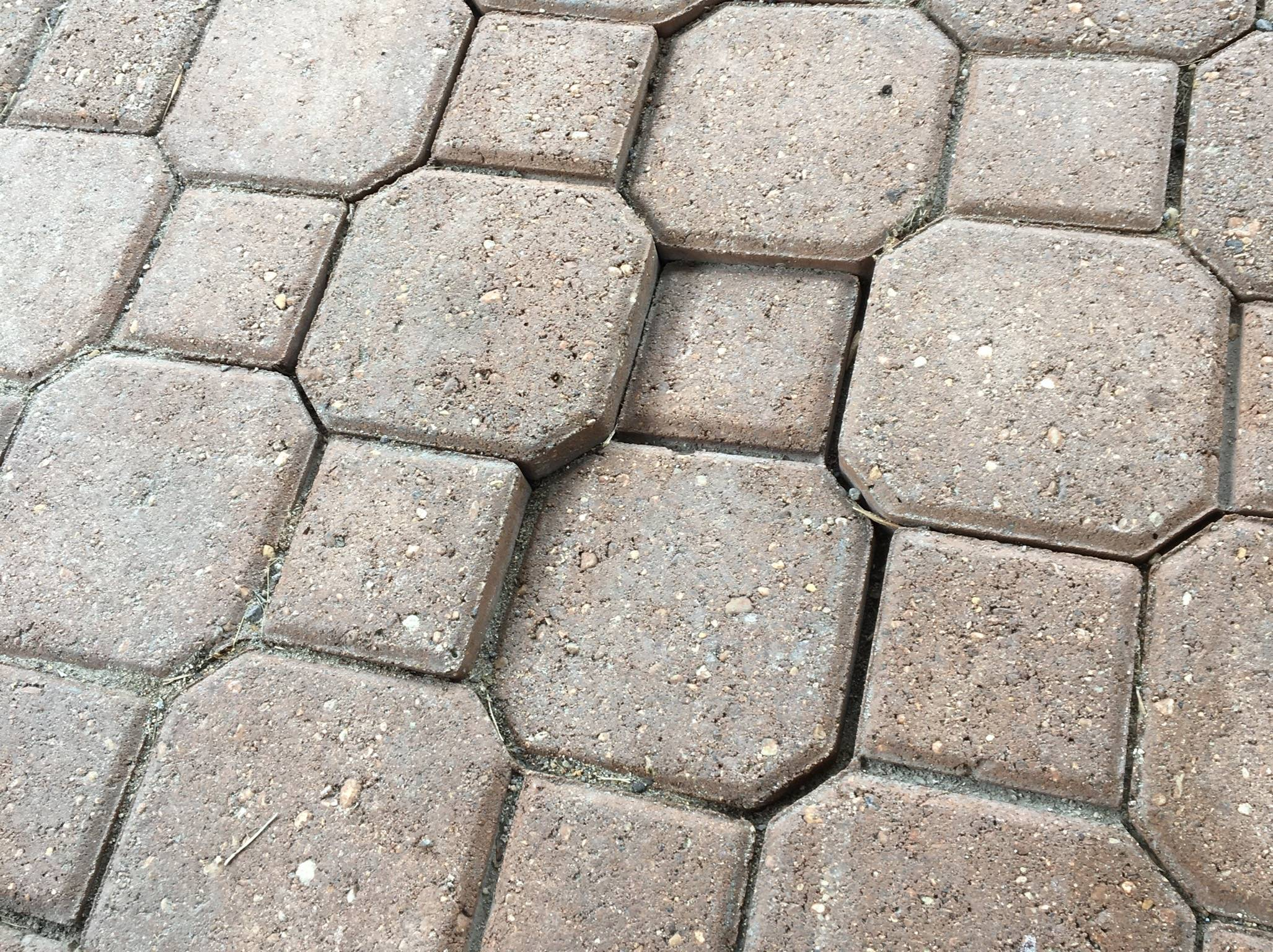 how can i lift a sunken paver in the
