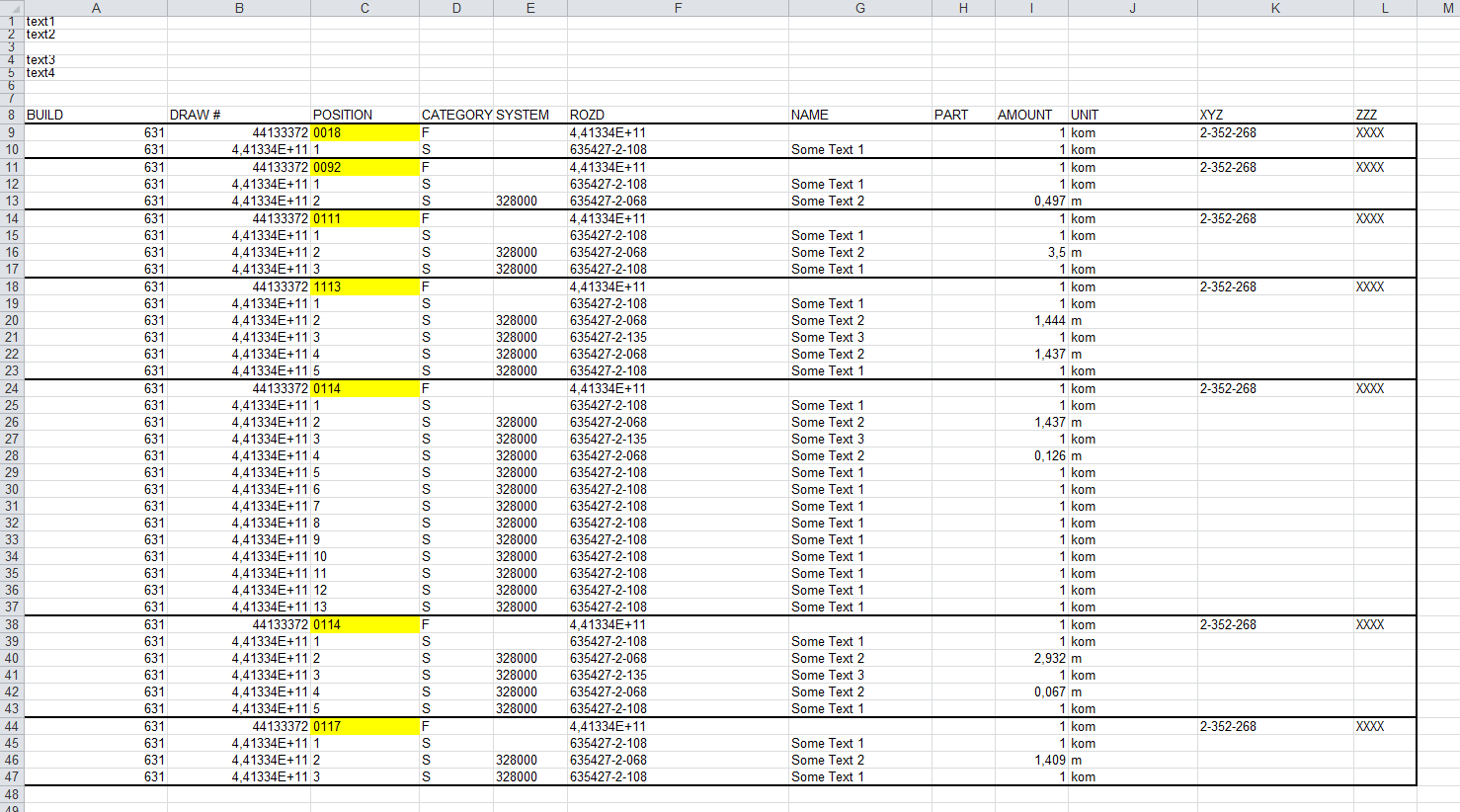 Excel Vba Sort By Every Nth Row And Delete Duplicate