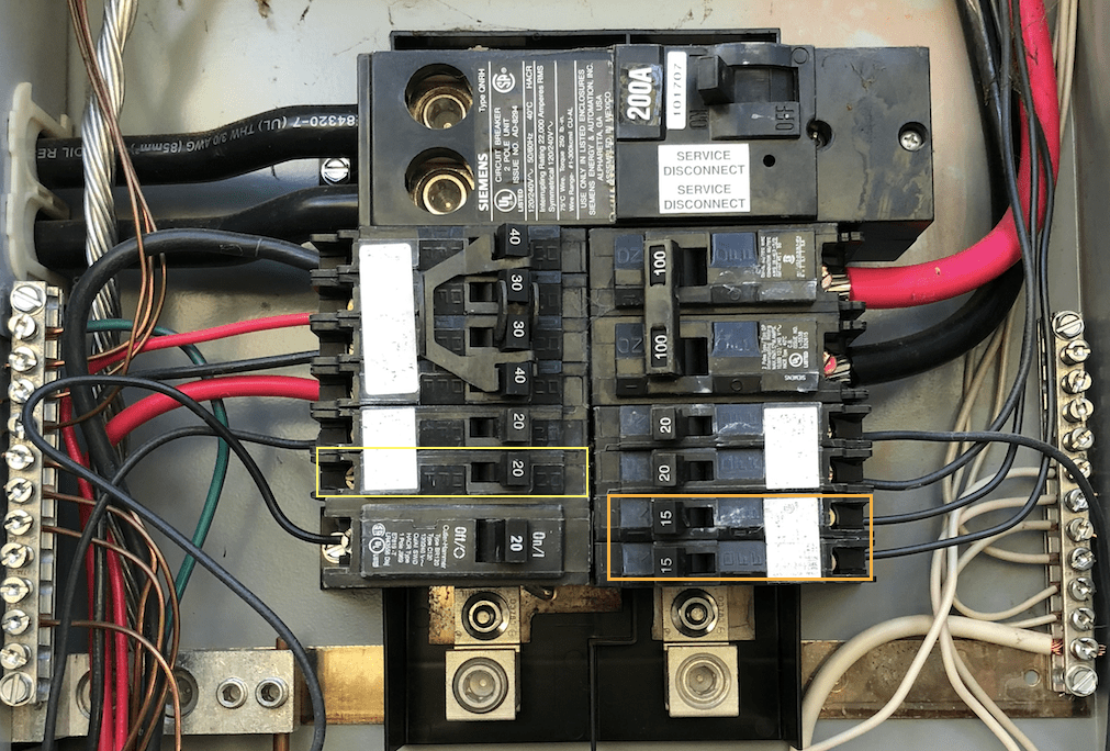 Help Making Room On 200 Amp Panel For 50amp