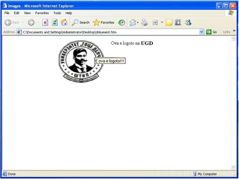 Html Alt Tag Not Displayed On Browser Stack Overflow