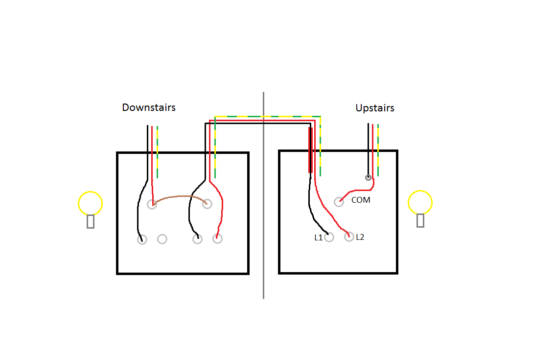How Should I Wire This 2-way Light Switch