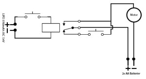 Using a transistor instead of a relay to control a DC