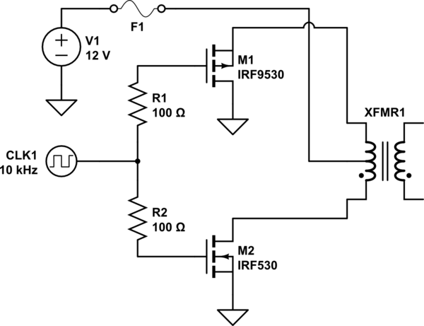 N-channel And P-channel Mosfet For Inverter