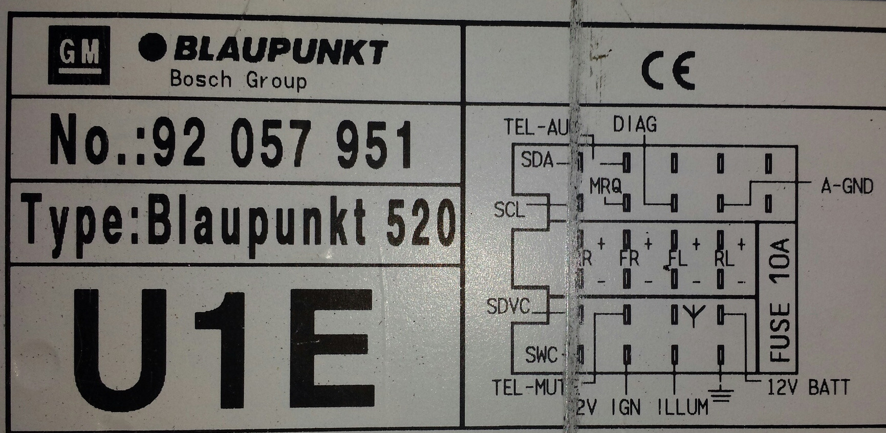 Blaupunkt Car Stereo Wire Color Wiring Diagram Castles Com Ford Diagrams