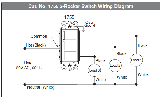 How To Wire Multi-control Rocker Switch