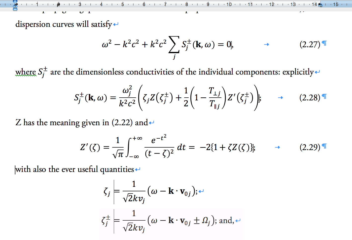 How Do You Easily Add Equation Numbers To Microsoft Word