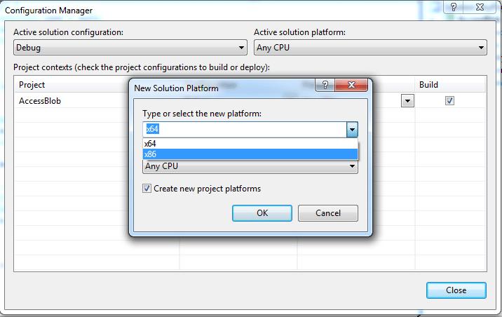 c# 하지 'Microsoft.ACE.OLEDB.12.0'공급자가 로컬 컴퓨터에 등록되지 않았습니다. - 해결 된 문제