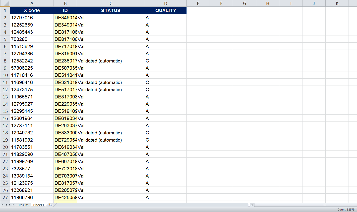 New Alphabetical Order Rows Excel