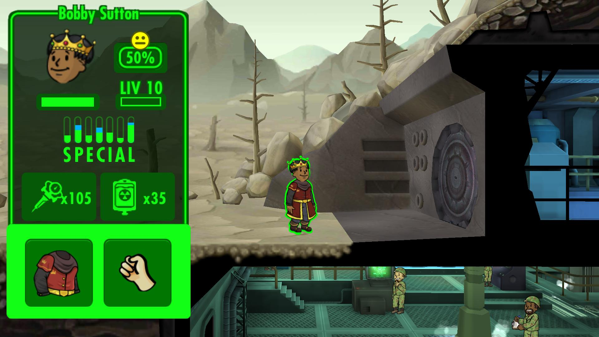 Fallout Shelter Can Legendary Dwellers Line Up Out Of Vault If Im At Population Cap Arqade