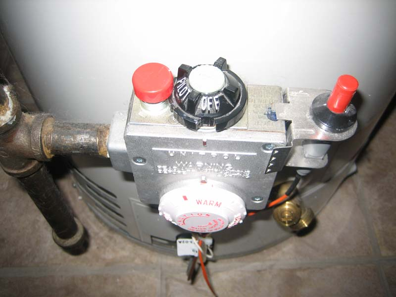 water heater on pilot home
