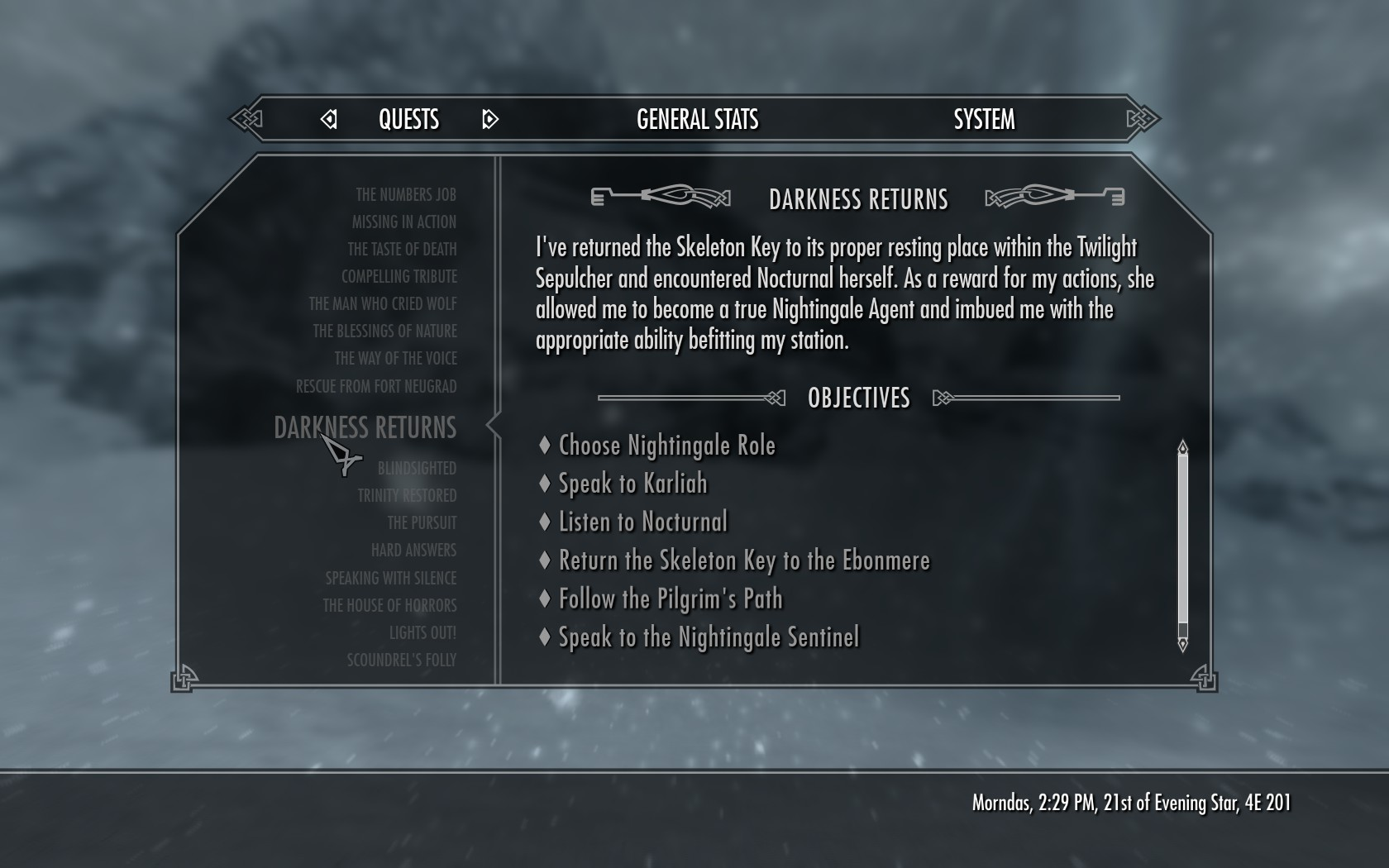 Steam Skyrim Achievements Are Locked Although Ive Completed Them Arqade
