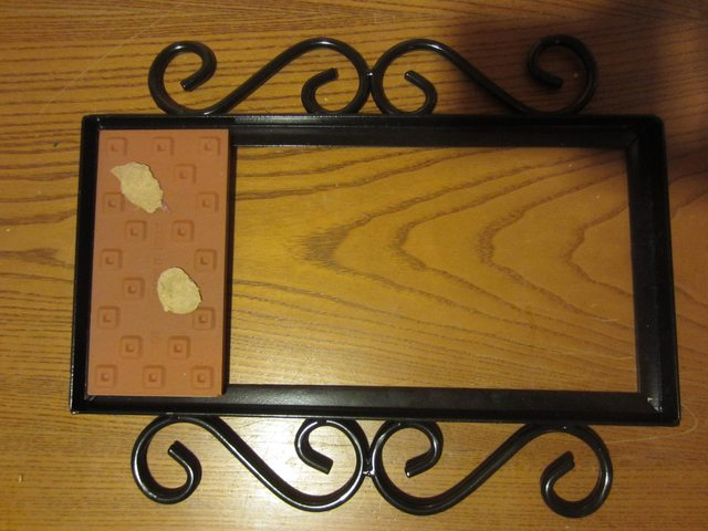how to mount ceramic tiles in a wrought