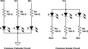 switches  Circuit for supporting, mon anode AND cathode RGB LED Matrices  Electrical