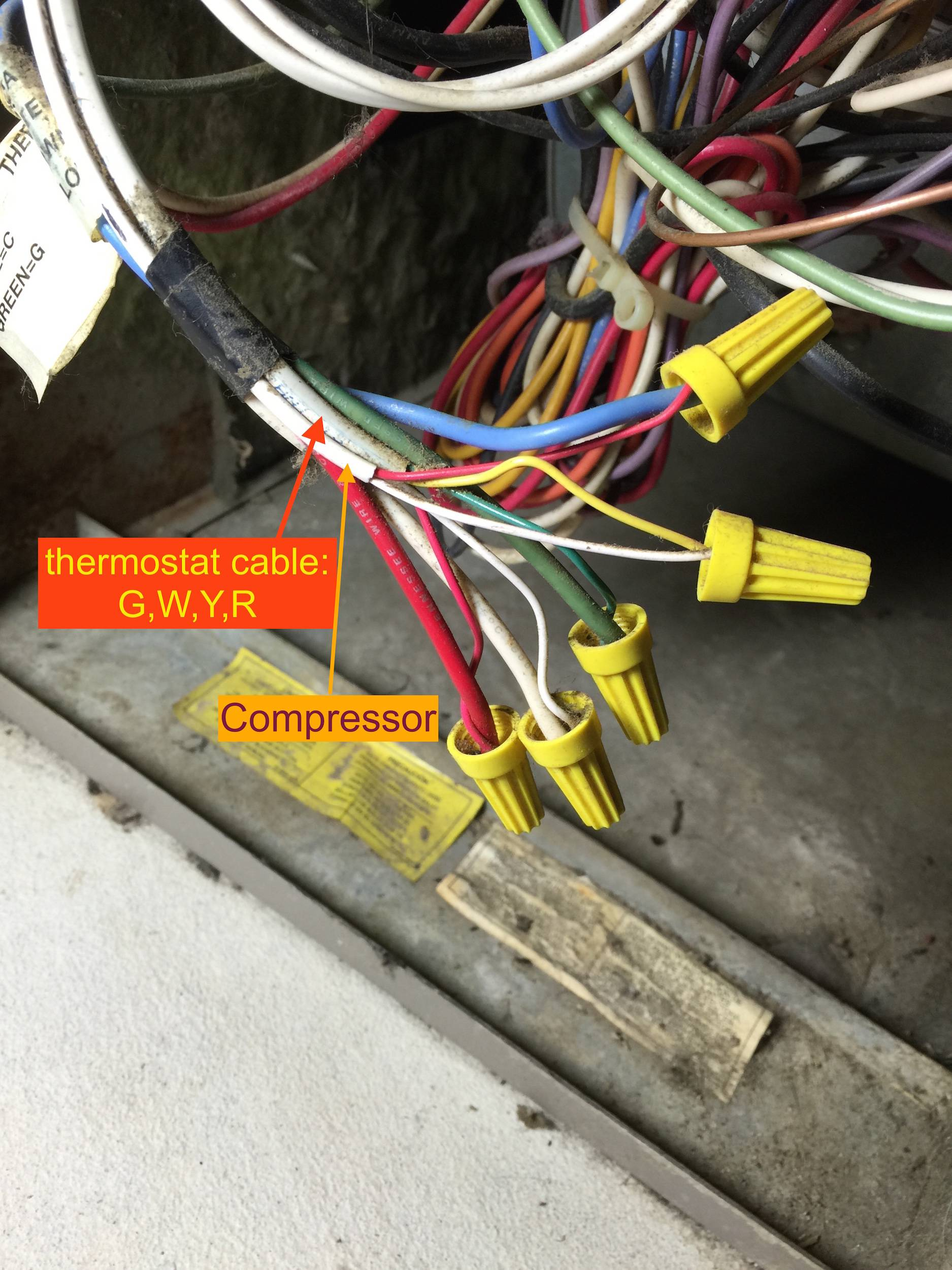 Adding Venstar Add A Wire To Hvac Home Improvement Stack