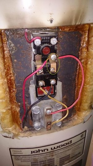 electrical  Is this electric water heater wiring correct