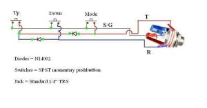 guitar pedal  Why are two diodes used here?  Electrical Engineering Stack Exchange