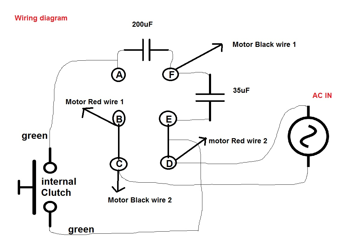 2 Capacitor Induction Motor Humming Troubleshooting