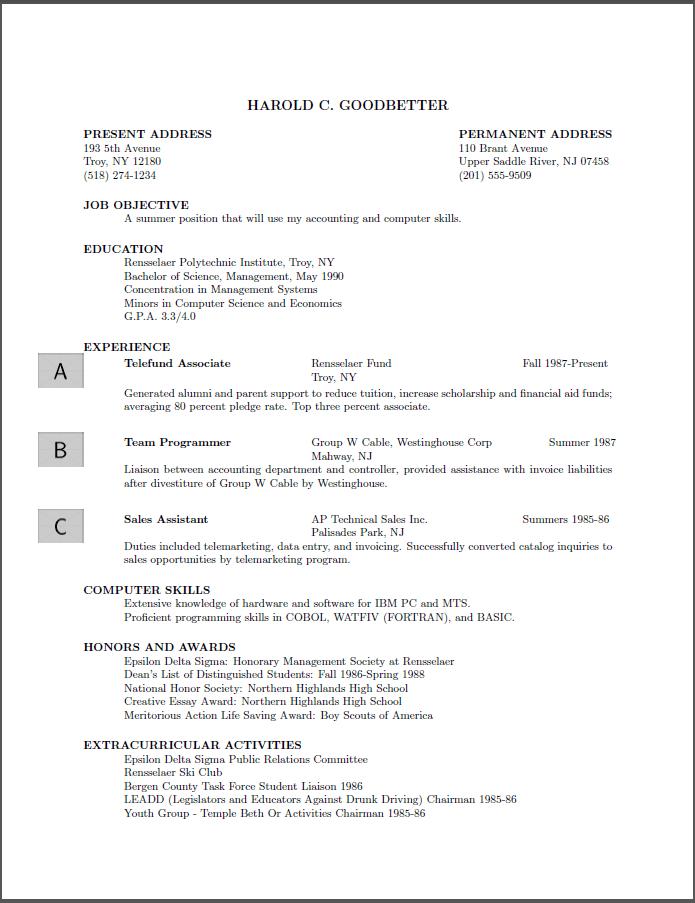 latex resume template software engineer frjit latex resume template