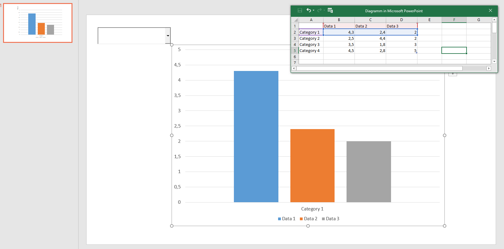 Changing Data Source Of Chart In Powerpoint Vba