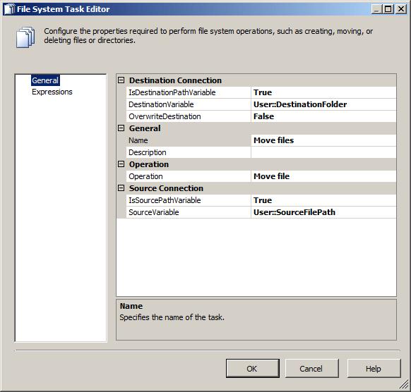 File System Task