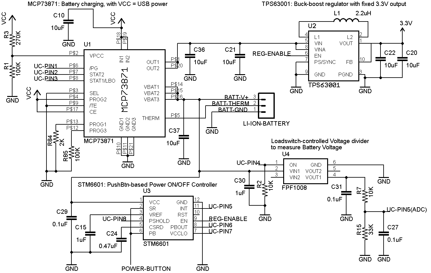 1 Bit Adder Schematic
