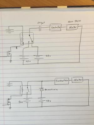 switches  Using a Contactor or Relay to switch between two DC power sources?  Electrical