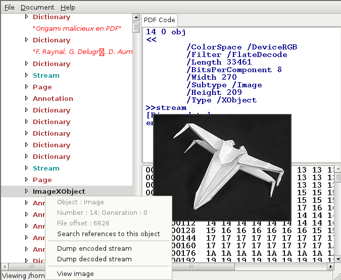 Open Source GUI Tool For Decomposing A PDF