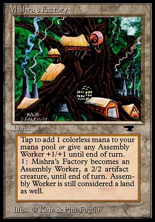 Magic The Gathering Mishras Factory Rarity And