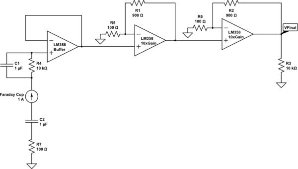 Using OpAmps To Amplify A Low