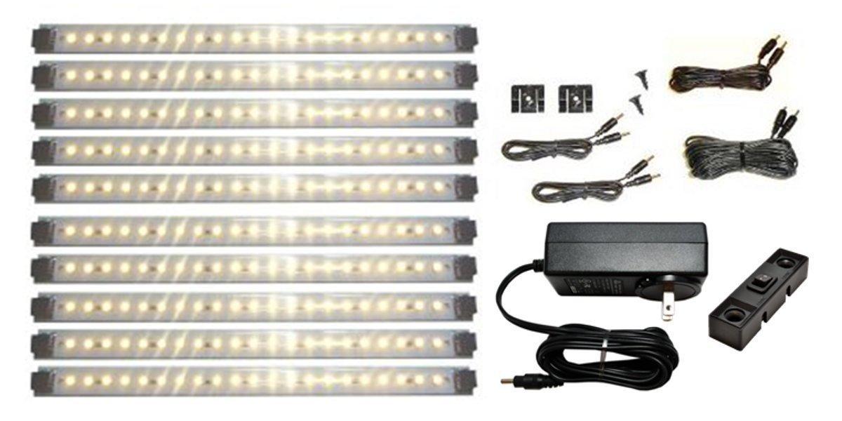 install under cabinet lights
