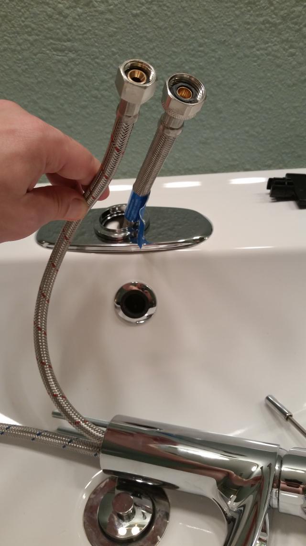 outer diameter faucet line