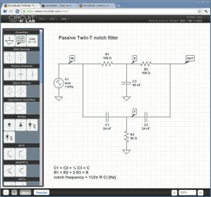 software  Free circuit simulator for educational purposes