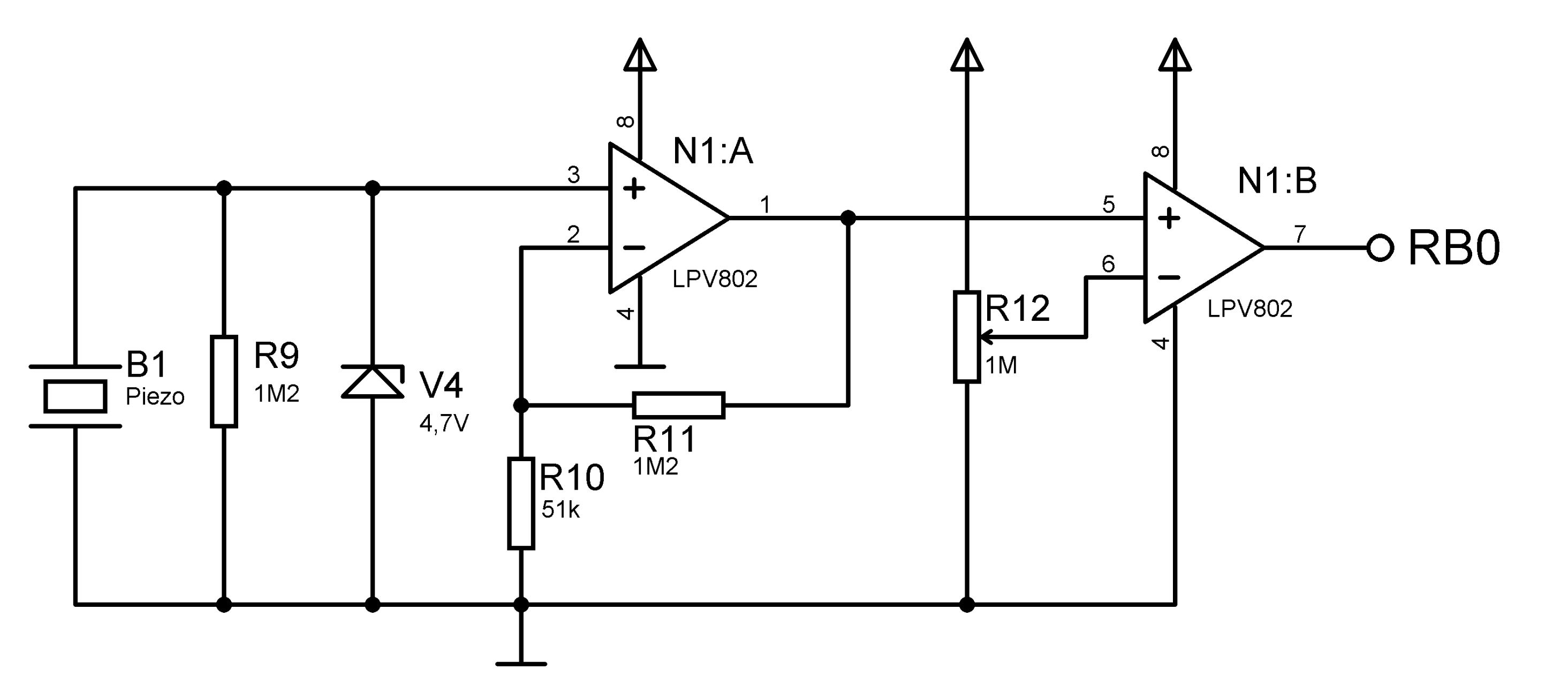 Amplifier Comparator Problem