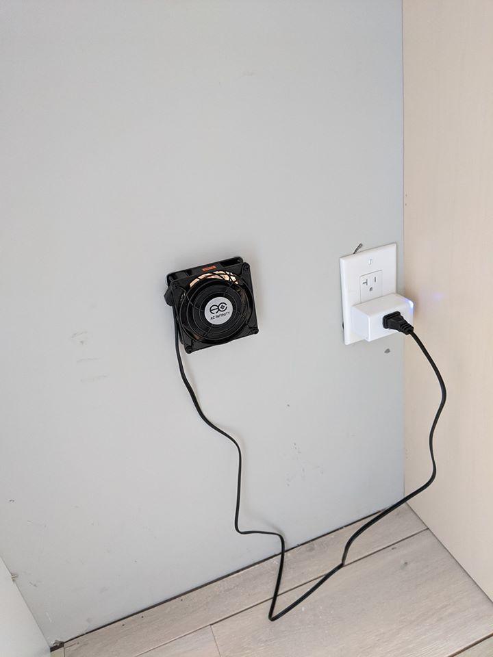 through wall exhaust fan