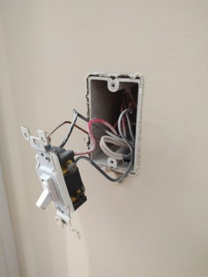 electrical  Wiring existing 3 Way Switch in basement stairs that was cut  Home Improvement