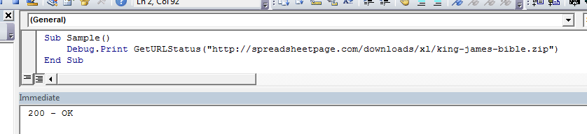 excel urldownloadtofile function in a does not work as the