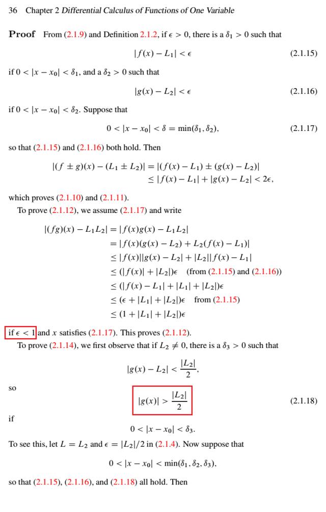 Proving limit properties - Mathematics Stack Exchange