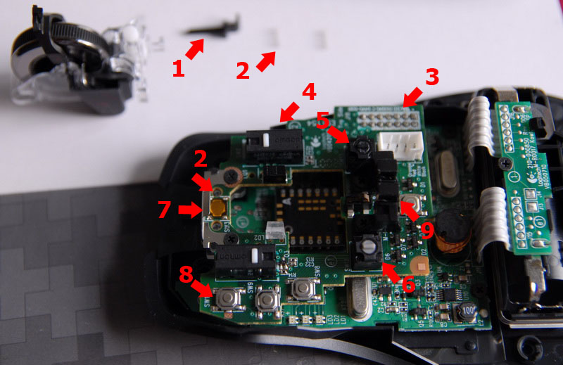 Repair How To Change Microswitches Leftright Mouse