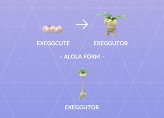 Exeggcutor Evolutions