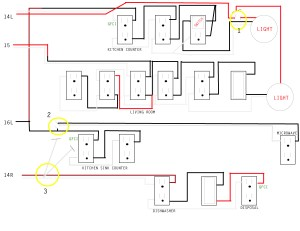 Kitchen wiring issue  Home Improvement Stack Exchange