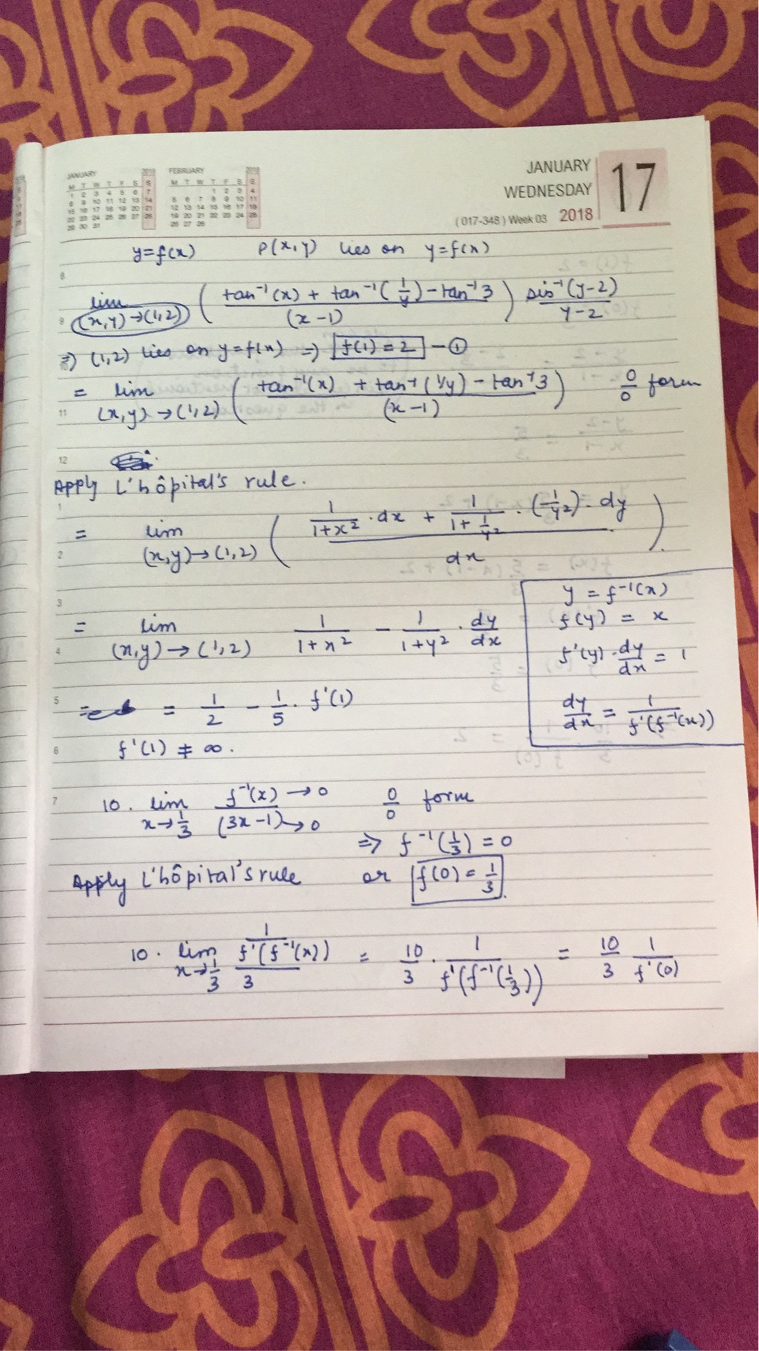 A Difficult Calculus Question Limits