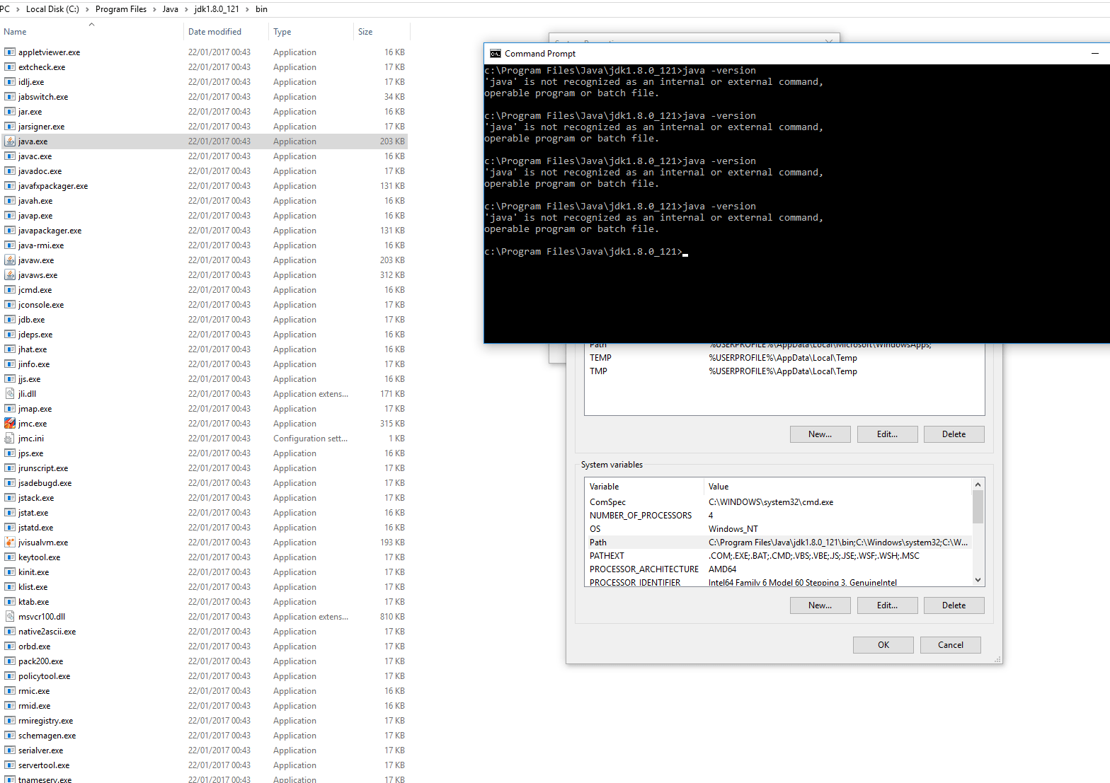 Unable To Set Java Path In System Variables Windows 10